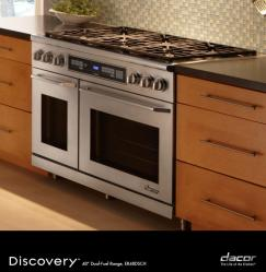 Brand: Dacor, Model: ER48DCSCHLPH, Fuel Type: Natural Gas
