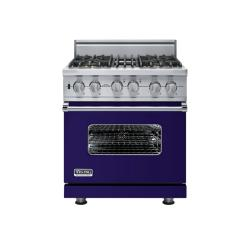Brand: Viking, Model: VGSC5304BWS, Fuel Type: Cobalt Blue - Natural Gas