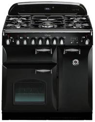 Brand: AGA, Model: ALEG36DFCDBLK, Color: Black with Cathedral Door