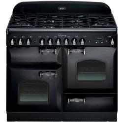 Brand: AGA, Model: ALEBS44DFCDVWT, Color: Black with Cathedral Door
