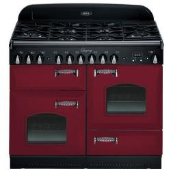 Brand: AGA, Model: ALEBS44DFCDVWT, Color: Cranberry with Cathedral Door