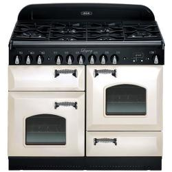 Brand: AGA, Model: ALEBS44DFCDVWT, Color: Ivory with Cathedral Door