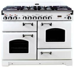 Brand: AGA, Model: ALEBS44DFCDVWT, Color: Vintage White with Cathedral Door