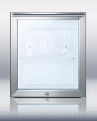 Brand: SUMMIT, Model: FFAR22LWGL7CSS, Color: Stainless Steel Cabinet