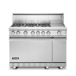 Brand: Viking, Model: BVGRC8486GSBK, Color: Stainless Steel