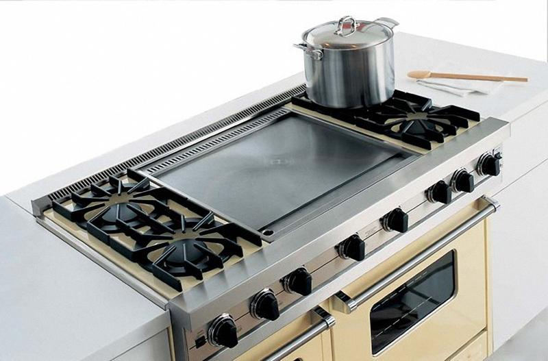 Viking Gas Cooktop >> P24CST | Viking p24cst | Range Accessories Countertop Side ...