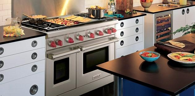 Wolf gr486g 48 pro style gas range with 6 dual stacked - Cocinas wolf ...