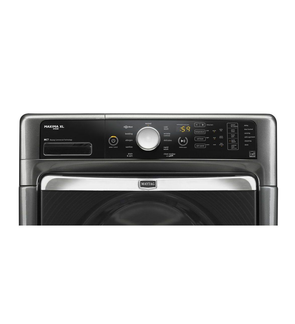Maytag Mhw6000aw 27 Quot Front Load Washer With 4 3 Cu Ft