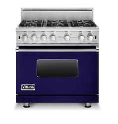 Brand: Viking, Model: VGCC5366BBKLP, Fuel Type: Cobalt Blue - Natural Gas