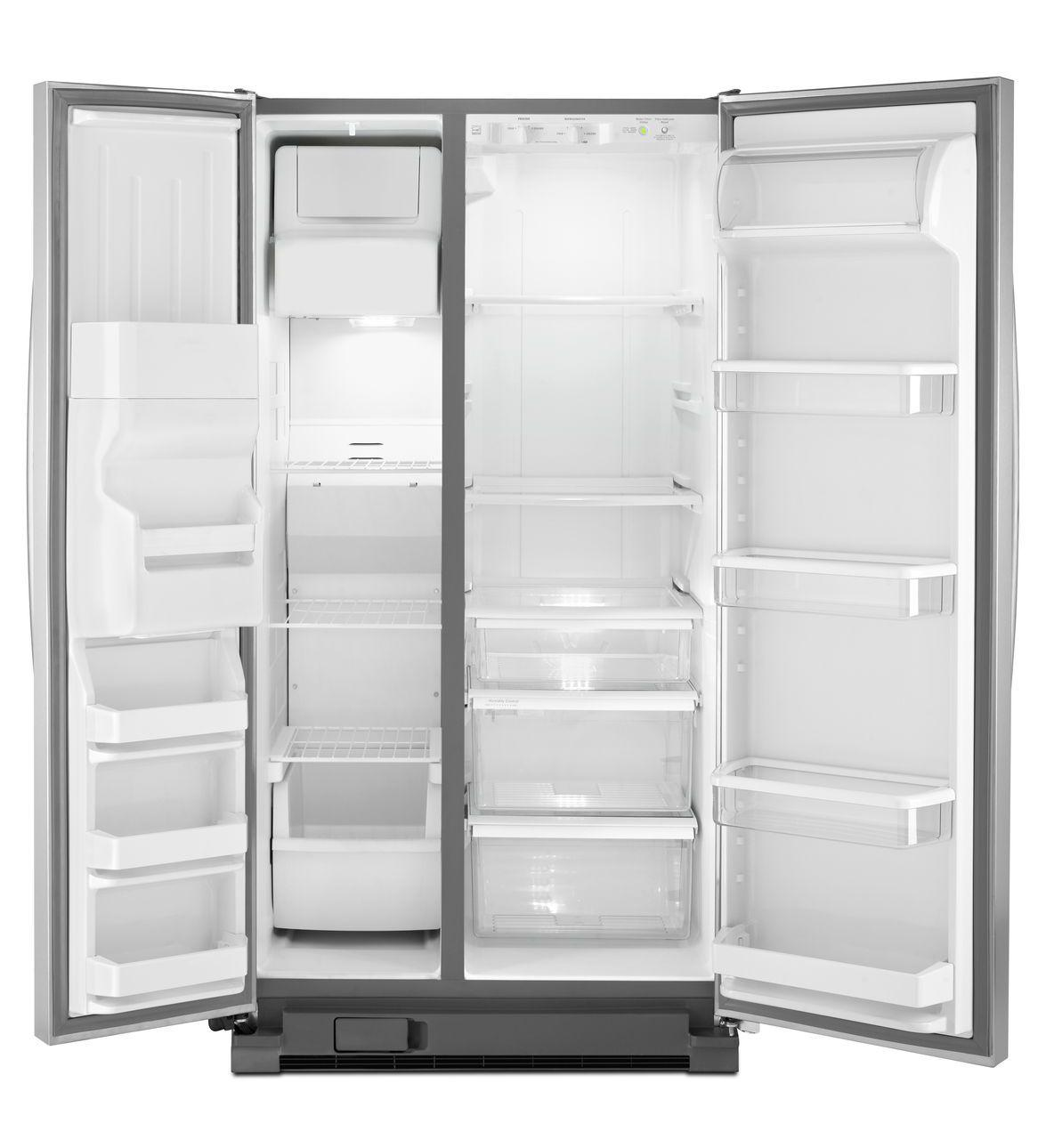 Wrs325fda Whirlpool Wrs325fda Side By Side Refrigerators