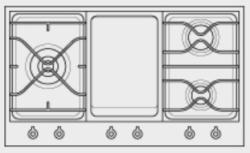 Brand: Bertazzoni, Model: PM3630GXLP