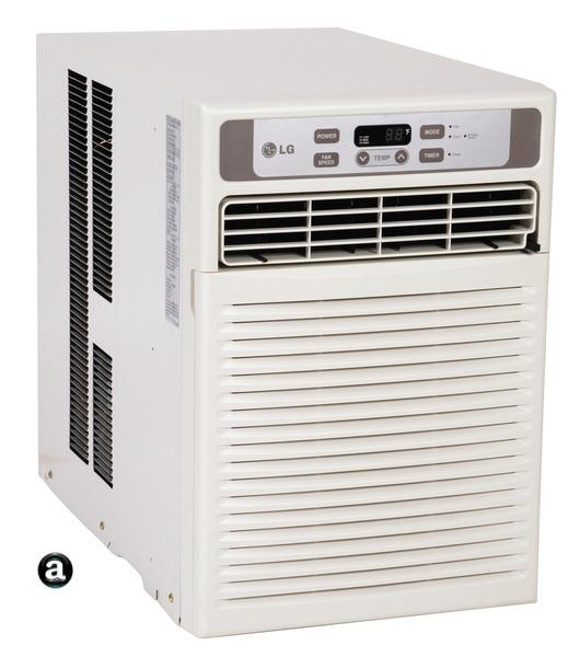 Lg Lw1012cr 9 800 Casement Window Air Conditioner With 9 5