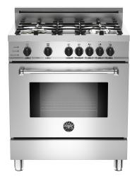Brand: Bertazzoni, Model: MAS304DFSXT, Fuel Type: Natural Gas