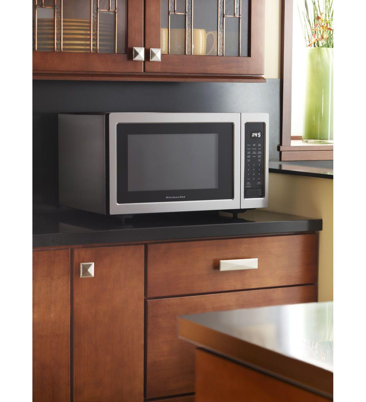 Kitchenaid Kcms2255bss 2 2 Cu Ft Countertop Microwave