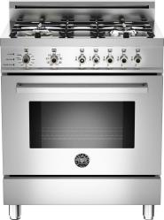 Brand: Bertazzoni, Model: PRO304DFSRO, Fuel Type: Stainless Steel, Natural Gas