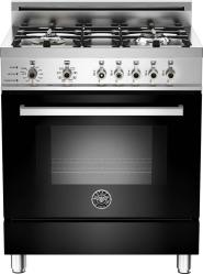 Brand: Bertazzoni, Model: PRO304DFSRO, Fuel Type: Black, Natural Gas