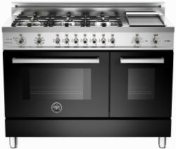 Brand: Bertazzoni, Model: PRO486GDFSBILP, Fuel Type: Black, Natural Gas