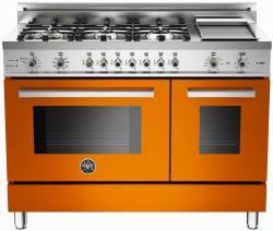 Brand: Bertazzoni, Model: PRO486GDFSVI, Fuel Type: Orange, Natural Gas