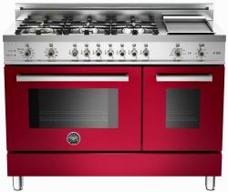 Brand: Bertazzoni, Model: PRO486GDFSVI, Fuel Type: Red Wine, Natural Gas