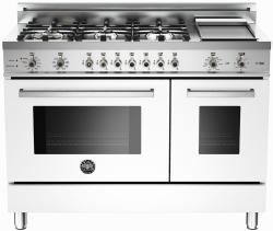 Brand: Bertazzoni, Model: PRO486GDFSVI, Fuel Type: White, Natural Gas