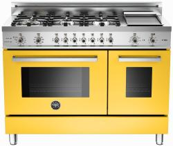 Brand: Bertazzoni, Model: PRO486GDFSBILP, Fuel Type: Yellow, Natural Gas