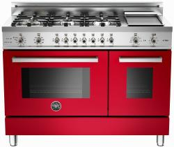 Brand: Bertazzoni, Model: PRO486GDFSVI, Fuel Type: Red, Natural Gas