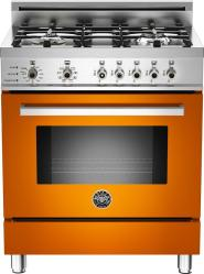 Brand: Bertazzoni, Model: PRO304DFSRO, Fuel Type: Orange, Natural Gas