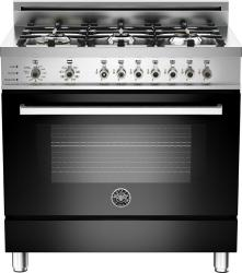 Brand: Bertazzoni, Model: PRO366DFSRO, Fuel Type: Black, Natural Gas