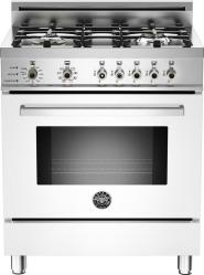 Brand: Bertazzoni, Model: PRO304DFSVILP, Fuel Type: White, Natural Gas
