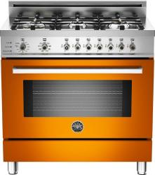 Brand: Bertazzoni, Model: PRO366DFSRO, Fuel Type: Orange, Natural Gas
