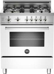 Brand: Bertazzoni, Model: PRO304GASRO, Fuel Type: White, Natural Gas