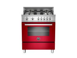Brand: Bertazzoni, Model: PRO304GASBI, Fuel Type: Red, Natural Gas