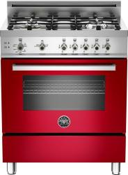 Brand: Bertazzoni, Model: PRO304GASRO, Fuel Type: Red, Natural Gas