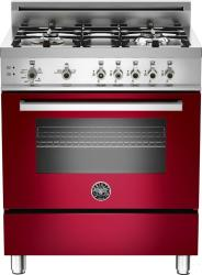 Brand: Bertazzoni, Model: PRO304GASRO, Fuel Type: Red Wine, Natural Gas