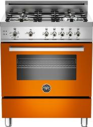 Brand: Bertazzoni, Model: PRO304GASXLP, Fuel Type: Orange, Natural Gas