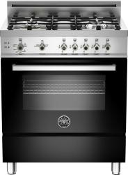 Brand: Bertazzoni, Model: PRO304GASAR, Fuel Type: Black, Natural Gas