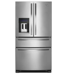 Brand: Whirlpool, Model: WRX735SDBH, Color: Monochromatic Stainless Steel