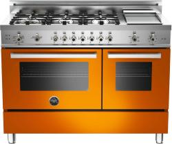Brand: Bertazzoni, Model: PRO486GGASBILP, Fuel Type: Orange, Natural Gas