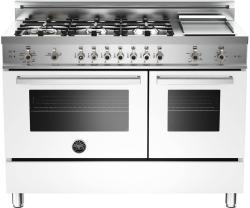 Brand: Bertazzoni, Model: PRO486GGASBILP, Fuel Type: White, Natural Gas