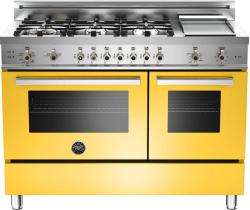 Brand: Bertazzoni, Model: PRO486GGASNE, Fuel Type: Yellow, Natural Gas