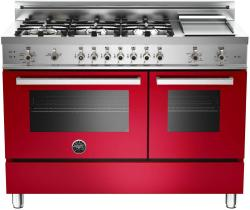 Brand: Bertazzoni, Model: PRO486GGASBILP, Fuel Type: Red, Natural Gas