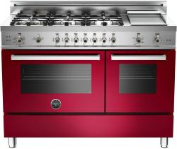 Brand: Bertazzoni, Model: PRO486GGASNE, Fuel Type: Red Wine, Natural Gas