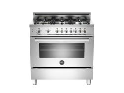 Brand: Bertazzoni, Model: PRO366GASGILP, Fuel Type: Stainless Steel, Natural Gas