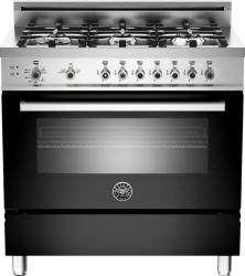 Brand: Bertazzoni, Model: PRO366GASBILP, Fuel Type: Black, Natural Gas