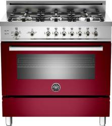 Brand: Bertazzoni, Model: PRO366GASVI, Fuel Type: Red Wine, Natural Gas