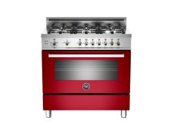 Brand: Bertazzoni, Model: PRO366GASVI, Fuel Type: Red, Natural Gas