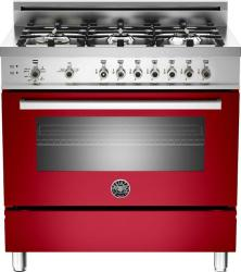 Brand: Bertazzoni, Model: PRO366GASXLP, Fuel Type: Red, Natural Gas