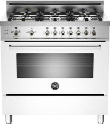 Brand: Bertazzoni, Model: PRO366GASBILP, Fuel Type: White, Natural Gas