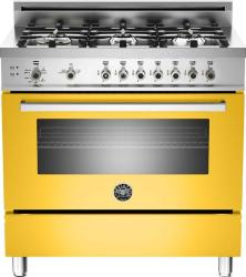 Brand: Bertazzoni, Model: PRO366GASGILP, Fuel Type: Yellow, Natural Gas
