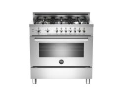 Brand: Bertazzoni, Model: PRO366GASVI, Fuel Type: Stainless Steel, Liquid Propane